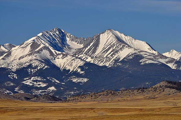 Loco Mountain in Crazy Mountains Montana. Photo by Mike Cline.